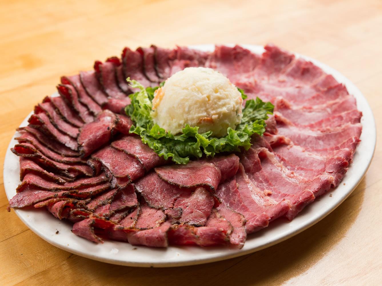 Corned Beef & Pastrami Platter