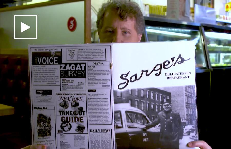 David Rosengarten Visits Sarge's