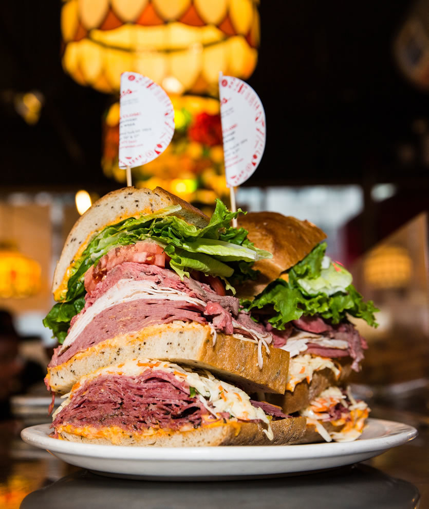 "Can you defeat ""The Monster""? - New York's Biggest Sandwich"