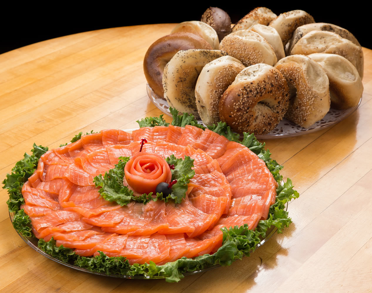 Nova Lox & Bagel Platters - Catering For Any Occaision!