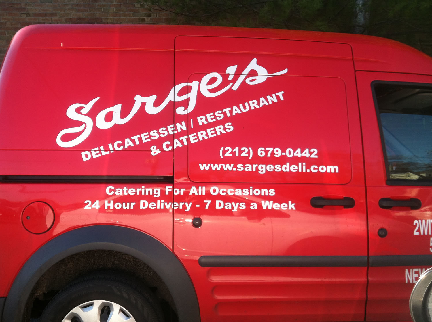 Sarge's Delivery Truck - Catering For Any Event!