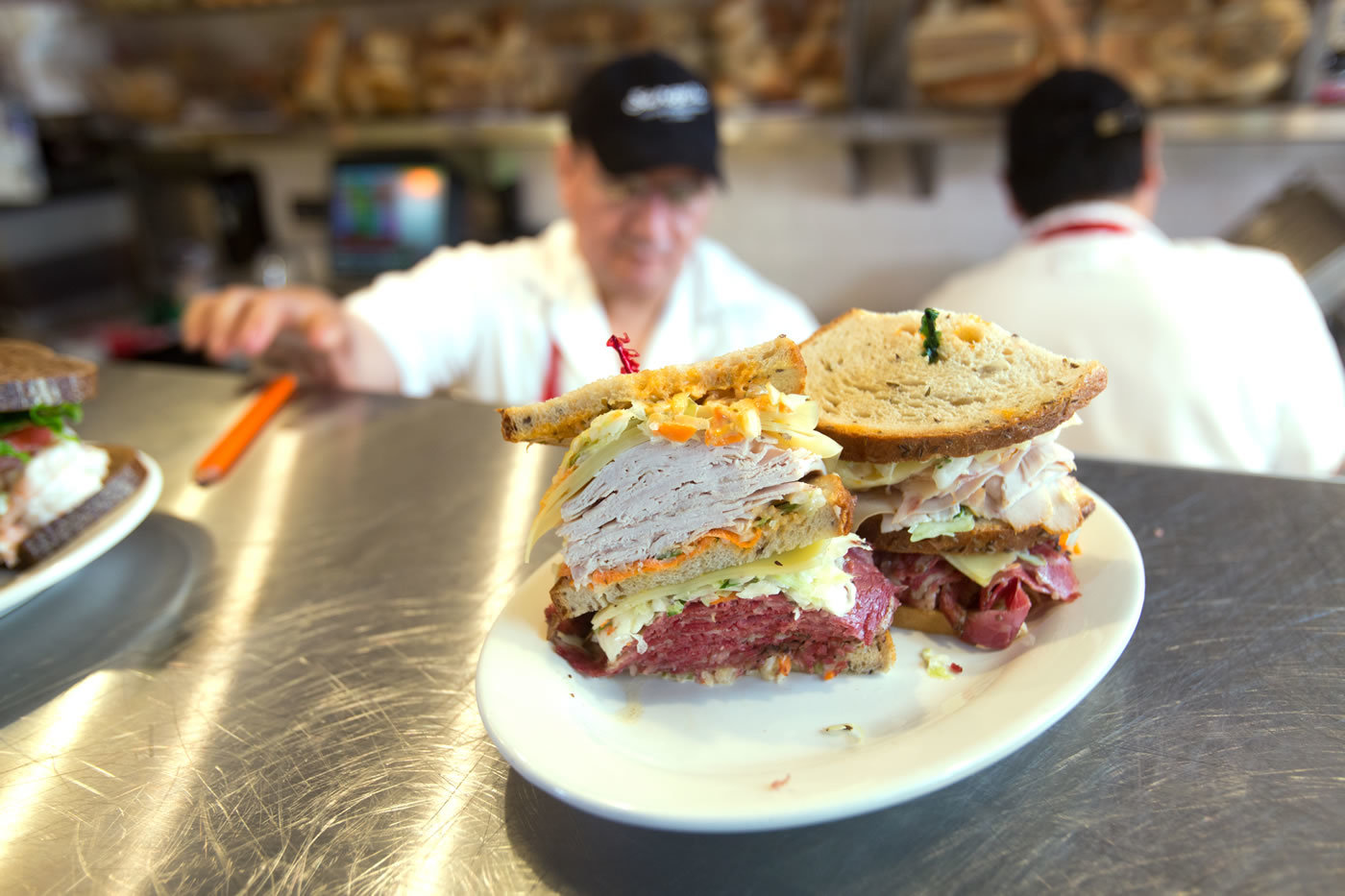 Order Up! Whose got the Turkey & Pastrami Sandwich?