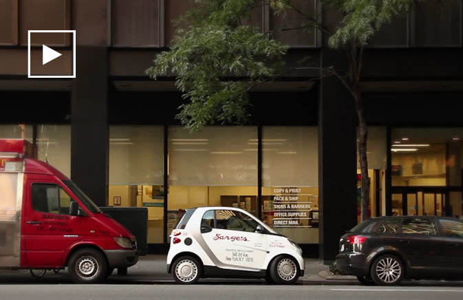 Smart Car Sarge's Deli Commercial