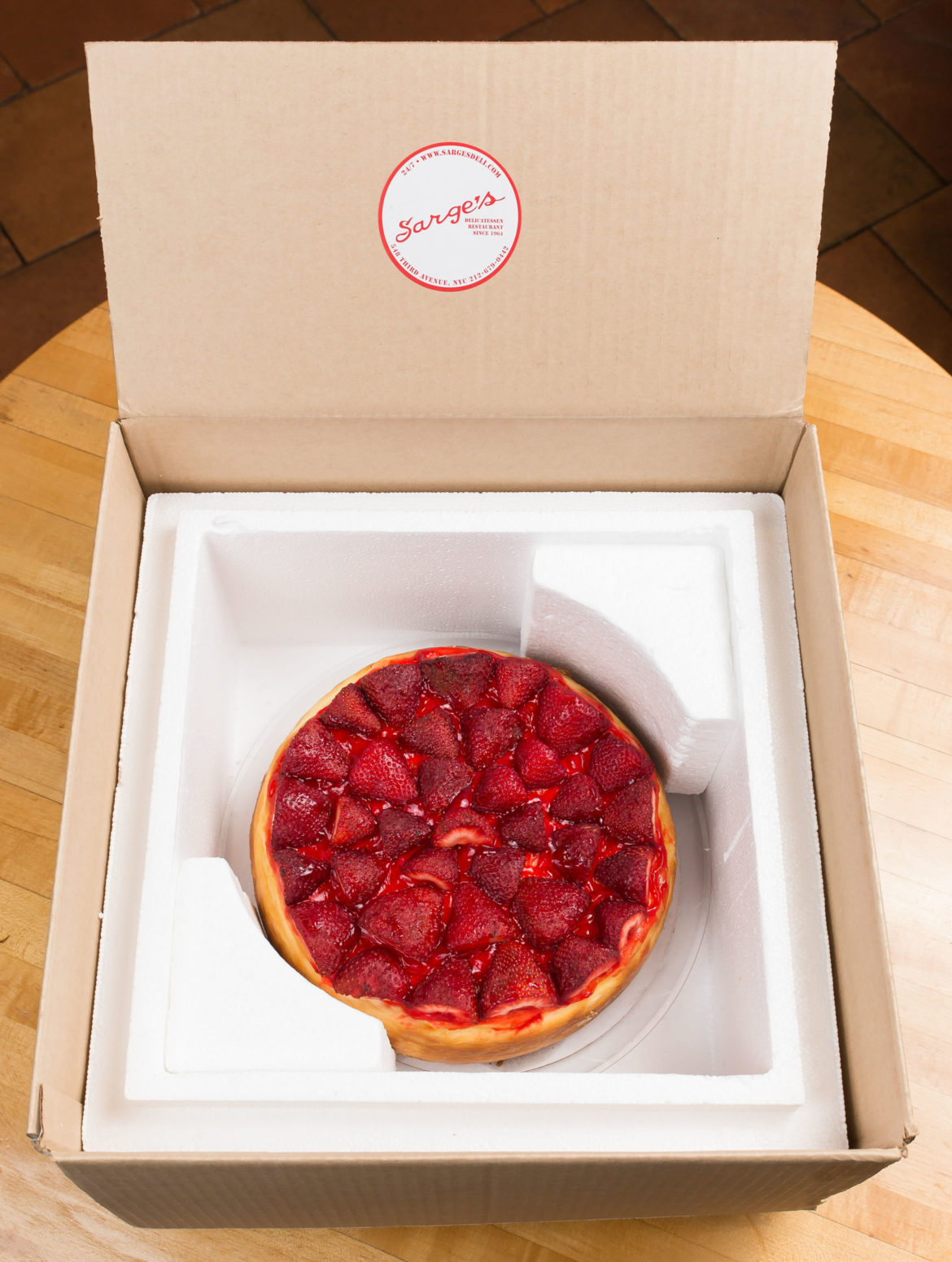 Sarges New York Cheescake Delivery